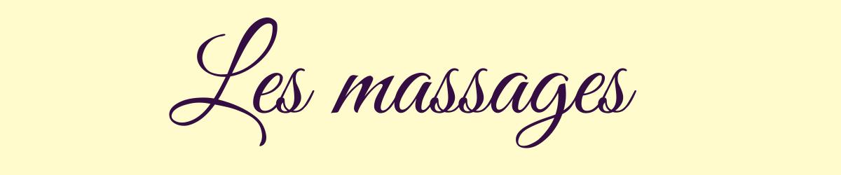 Les massages 2